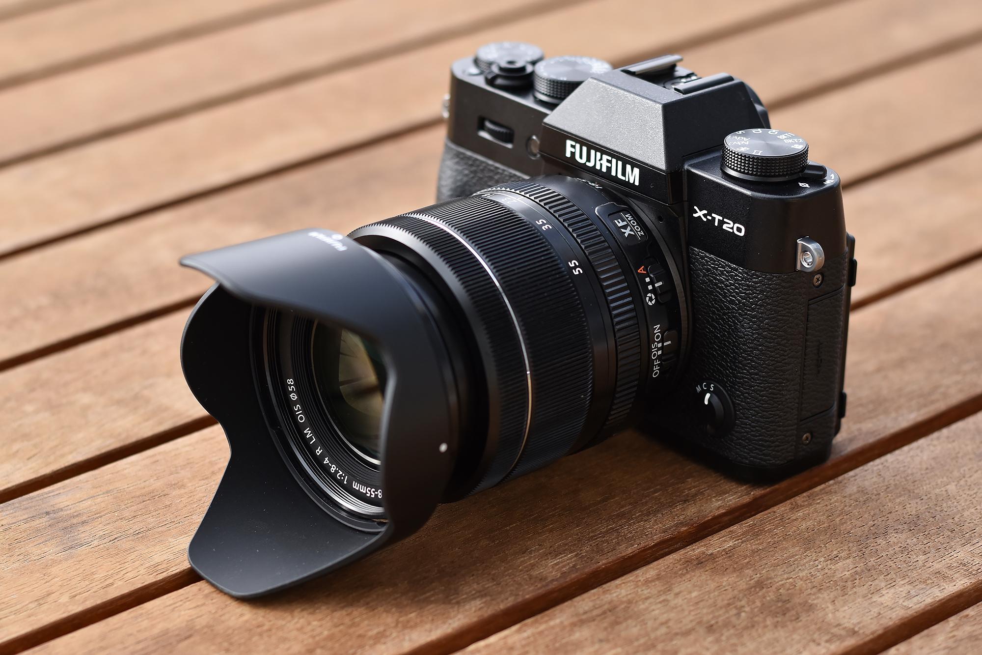 Fujifilm X T20 Erster Eindruck Und Beispielbilder Fotoespresso E3 Kit Xf 18 55mm F 28 4 R Lm Ois Silver