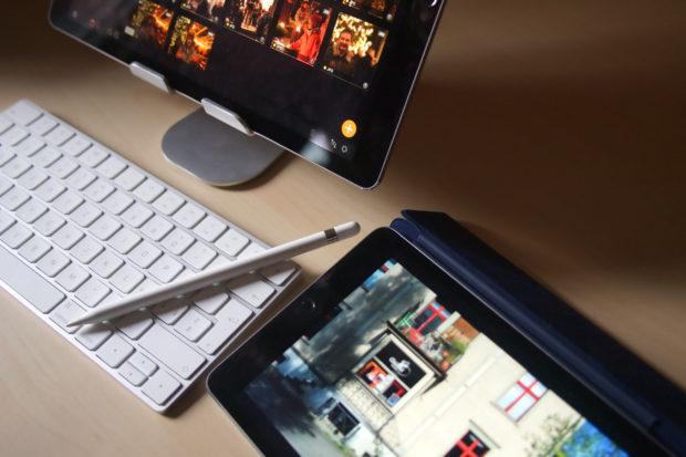 iPad Bildverealtung