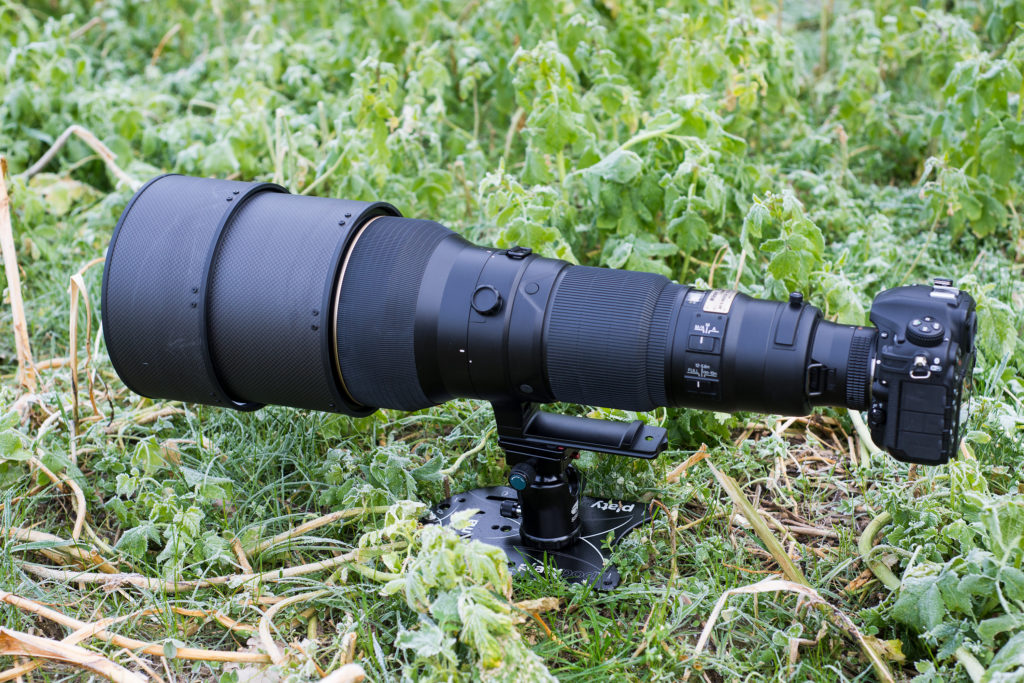 Platypod Max with Nikon D500 and Nikon AF-S 600mm f/4